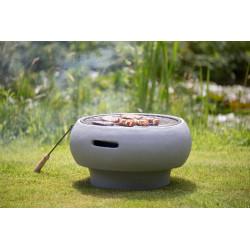 BBQ TUB-gril na dřevěné uhlí