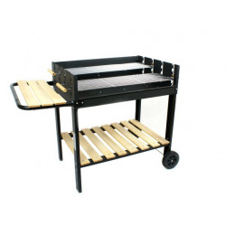 Landmann GrillChef Wagon BBQ gril na dřevěné uhlí 78 x 56 cm 0439