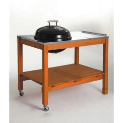 Landmann kotlový gril na dřevěné uhlí 47 cm se stolem 11484