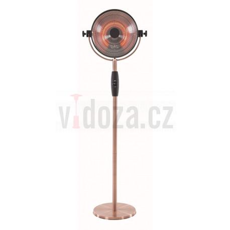 Sunred RSS16 Retro stojací karbonové topidlo 2100 W Copper