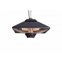 SunRed CE17SQ Square závěsné halogenové topidlo s LED 2000 W
