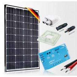 Solární set pro obytná auta a karavany 130W