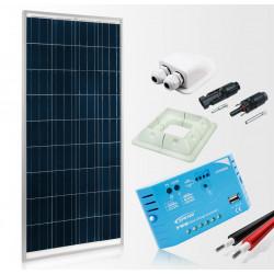 Solární panel pro obytná auta a karavany 155W prestige