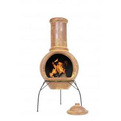 RedFire PABLO hliněné venkovní ohniště (topeniště)