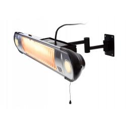 SunRed HWML1500 halogenové nástěnné topidlo s LED 1500 W