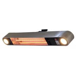 SunRed ELLIPS WSSL karbonové nástěnné topidlo s LED 1500 W
