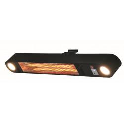 SunRed ELLIPS WBL karbonové nástěnné topidlo s LED 1500 W černé