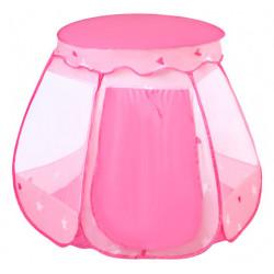Dětský stan pro děti BASIC, růžový