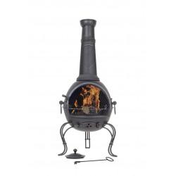 RedFire CADIZ XL venkovní ohniště (topeniště) s grilem
