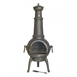 RedFire SIERA XL venkovní ohniště (topeniště) s grilem